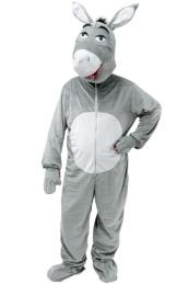 Costume d'Ane - Ce costume contient : La combinaison avec la queue et la tête d'âne