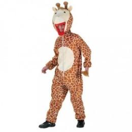 Costume de Girafe - Ce costume contient : La combinaison avec la queue et la tête de girafe