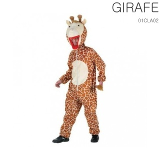 La combinaison avec la tête de girafe