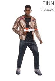 La veste rembourrée avec chemise, et le pantalon avec cache-bottes