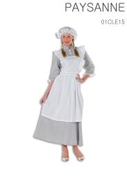 La robe avec le tablier intégré