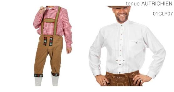 La chemise blanche et le pantacourt à bretelles